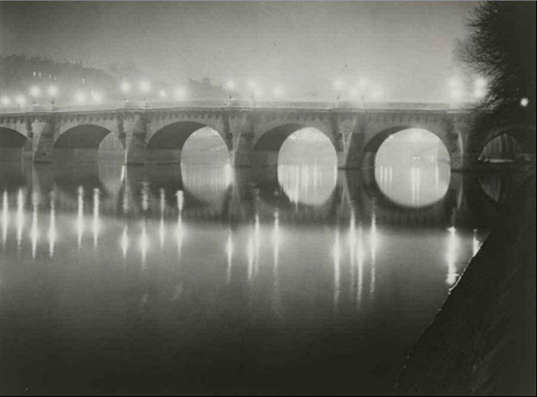 1930. Новый мост ночью
