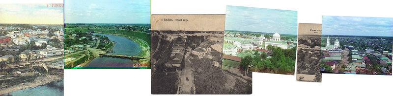 Панорама старого Ржева