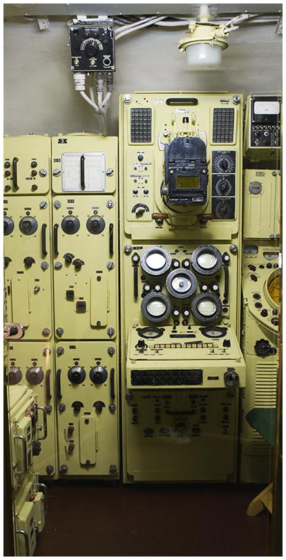 Рубка радиолокации подводной лодки