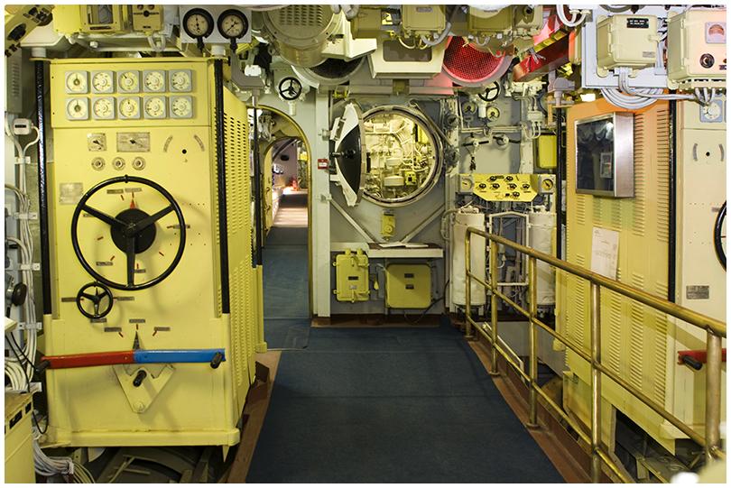 Дизельный отсек подводной лодки