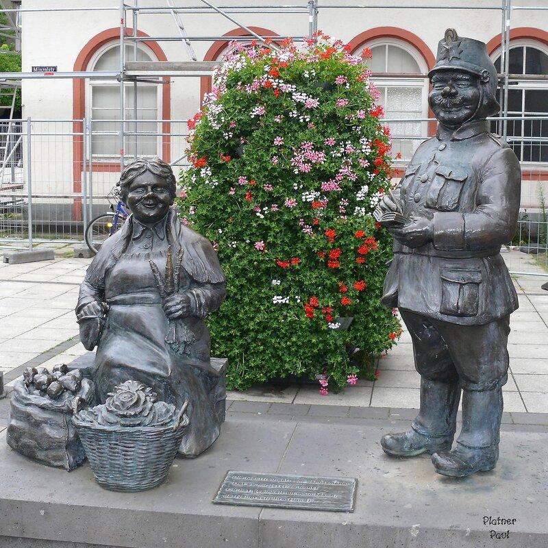 Германия. Кобленц - необычный памятник