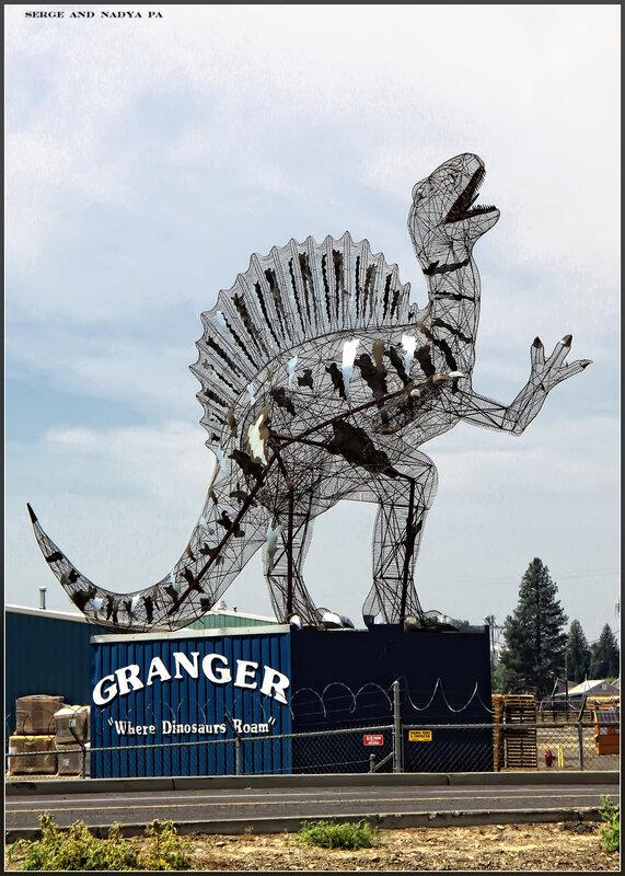 where dinosaurs roam