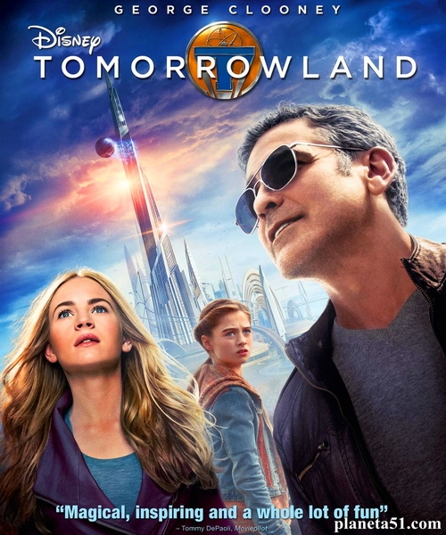 Земля будущего / Tomorrowland (2015/WEB-DL/WEB-DLRip)