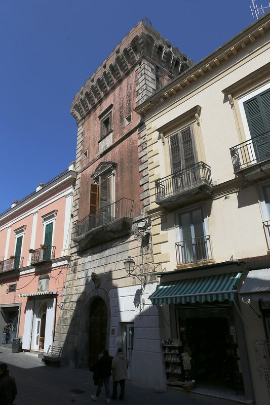 Ischia, Forio. Morgera tower (Torre di via Morgera)
