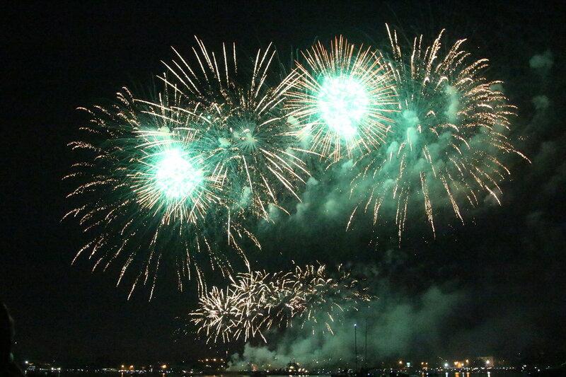 Фестиваль фейерверков и День Города