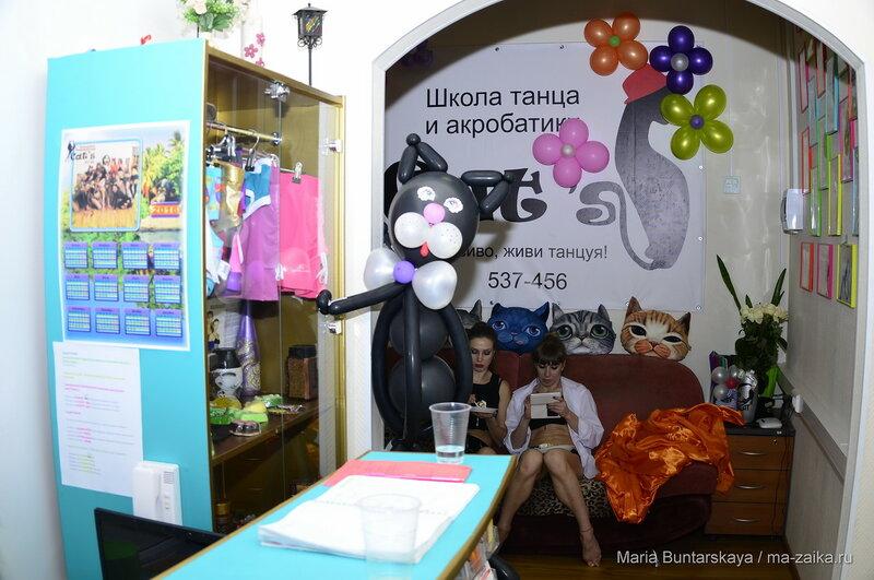 Школа акробатики 'Cat's, Саратов, 13 февраля 2016 года