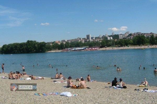 Сербия, Белград, пляж, отдых