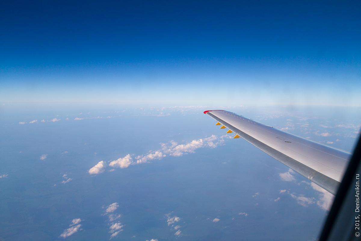 Полёт Саратов - Санкт-Петербург 3