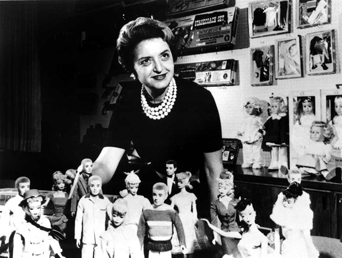 Барби и её создательница Рут Хэндлер