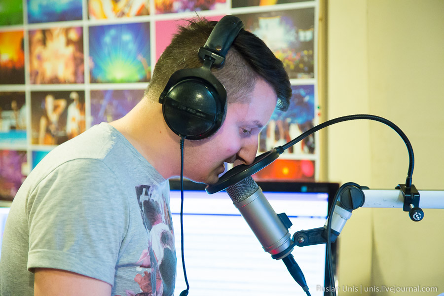 В гостях на радио Рекорд