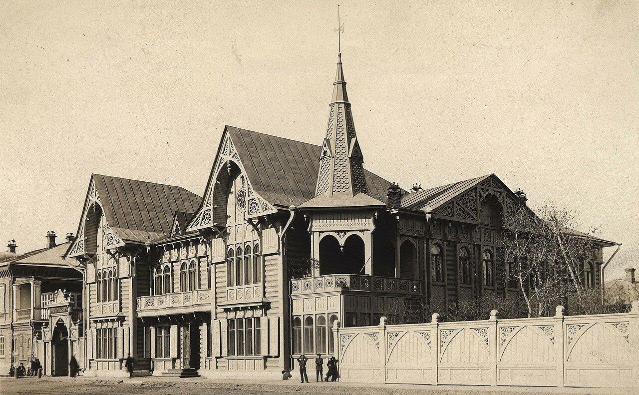 Жилой дом купца Цукермана. 1911