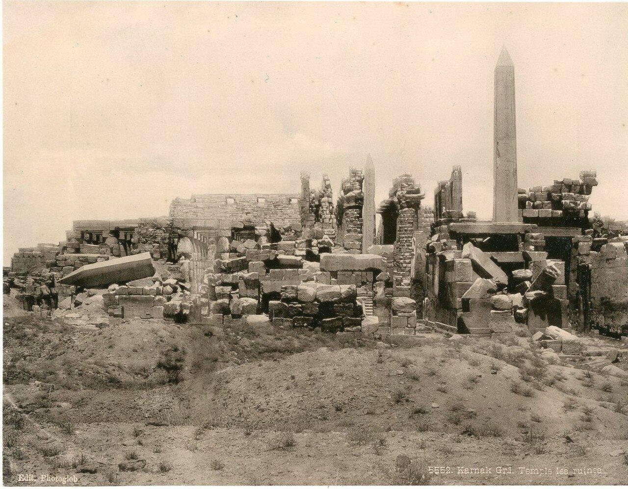 Карнак. Руины Великого Храма. 1900-е