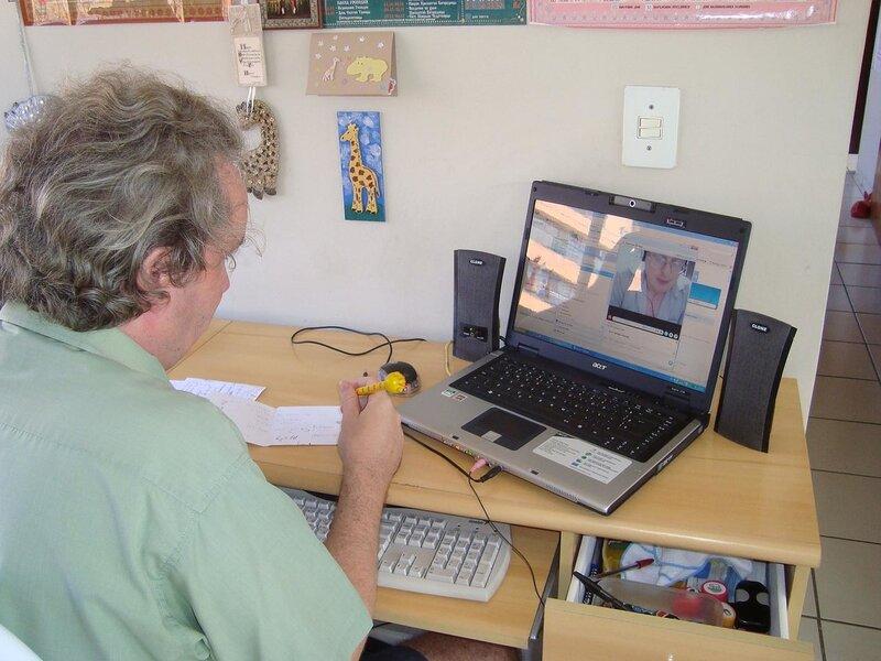 Работа с коллегой из Японии по скайпу