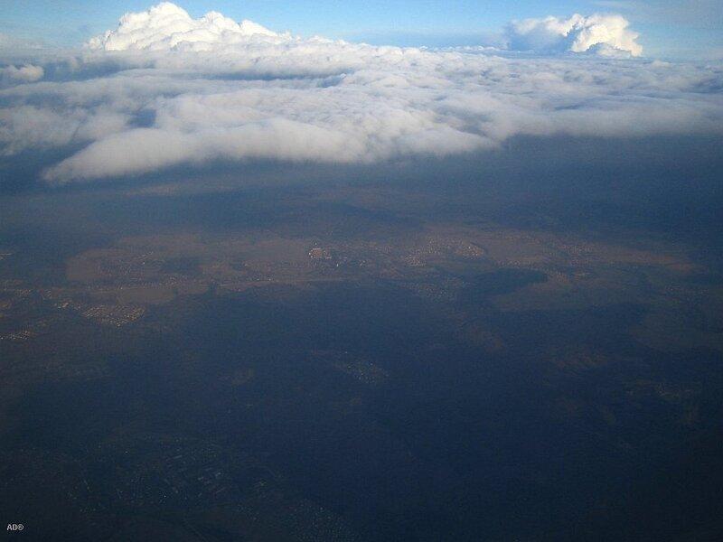 на уровне облаков