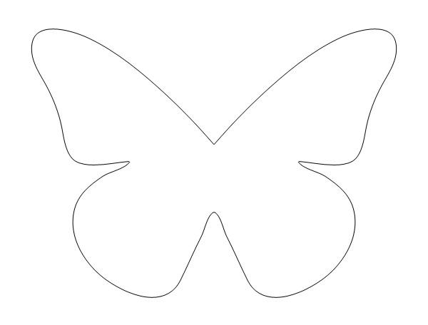 Как сделать трафарет бабочек руками