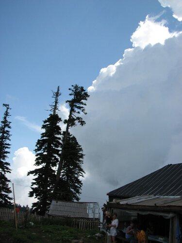Альпийские луга, небо 2