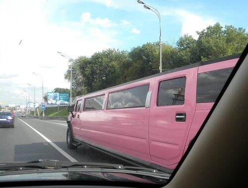 Розовый хаммер