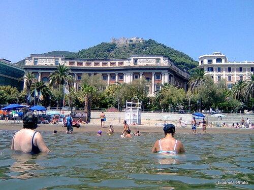 Салерно со стороны моря