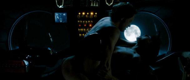 Сексуальная сцена из фильма хранители