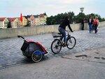 Река Дунай в Регенсбурге. Германия
