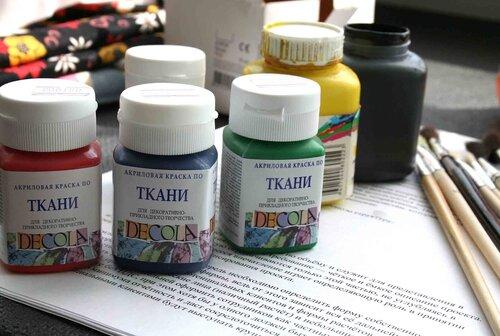 Как сделать акриловой краской