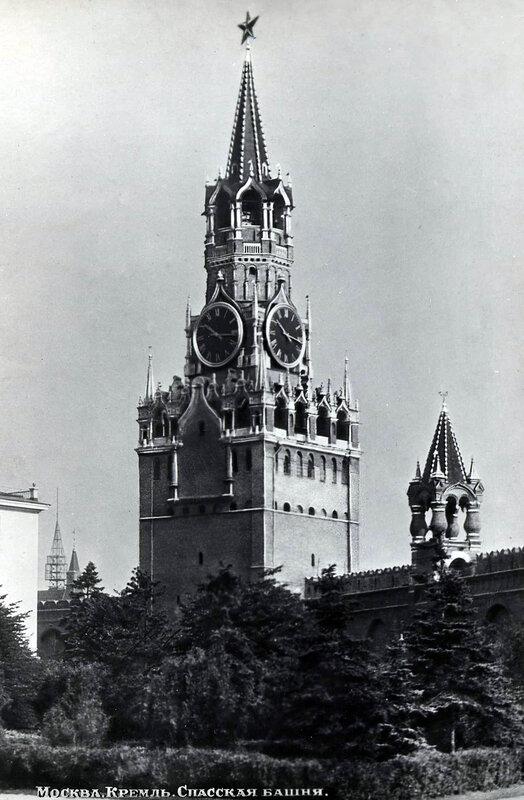 Москва. Кремль. Спасская башня