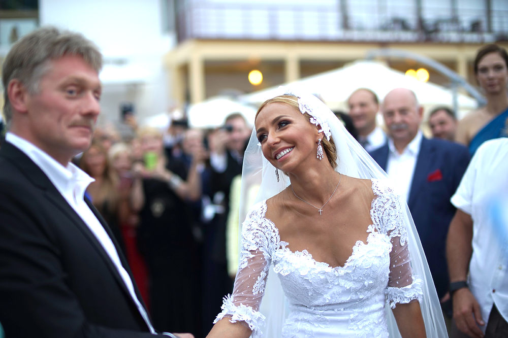 Фото со свадьбы Навки и Пескова в Сочи: кто был на свадьбе