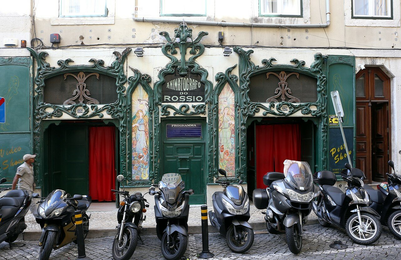 Лиссабон. Улицы Байша (Baxia)