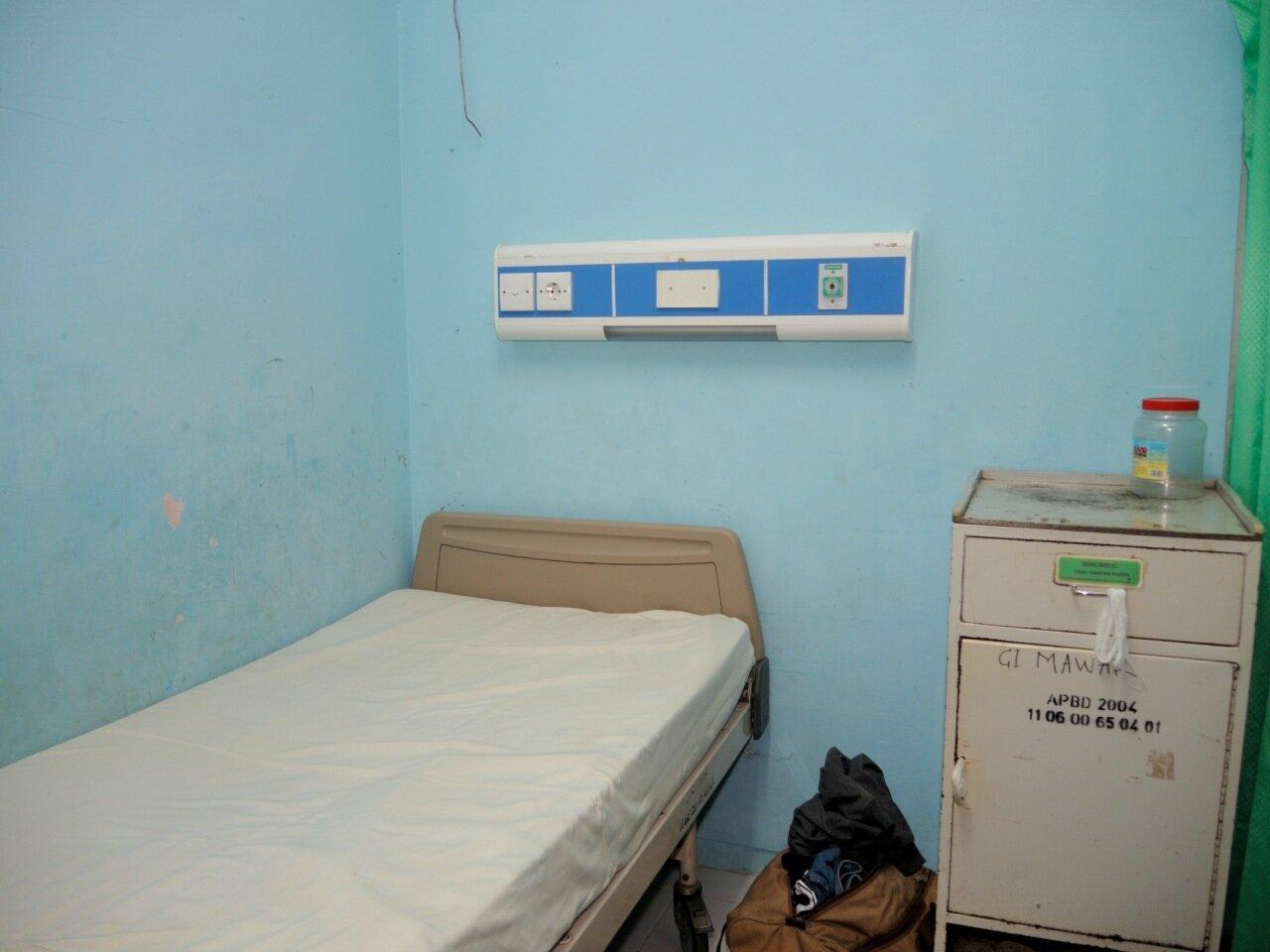 палата в индонезийской больнице