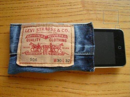 Вторичное использование джинсовых этикеток