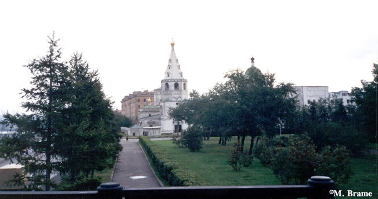 Иркутск. Вид на собор Богоявления