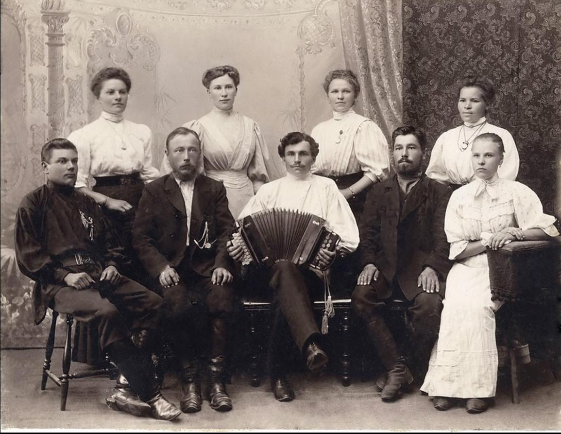 1908. Внуки от первого брака купца Семенова Сергея Терентьевича