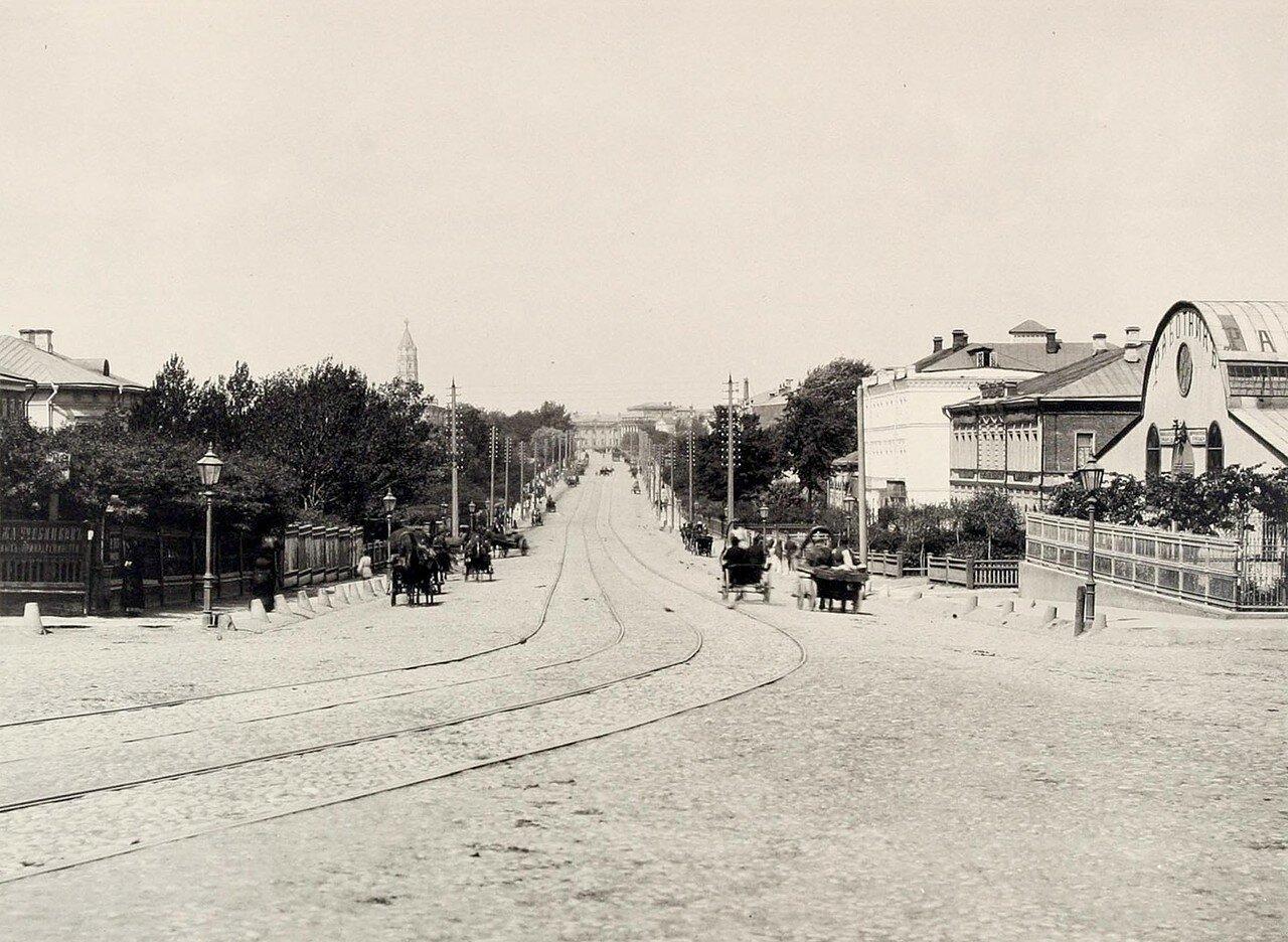 362. Вид Садовой от Красных ворот (в сторону Сухаревой башни)