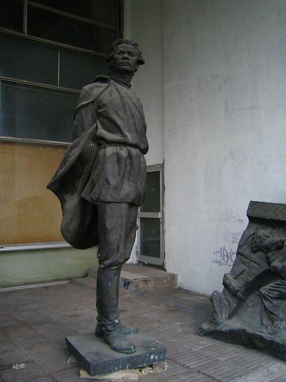 Памятник Максиму Горькому скульптора Мухиной