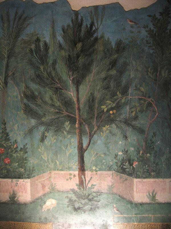 Фрески из виллы Ливии