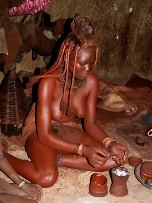 Девушки африканского племени