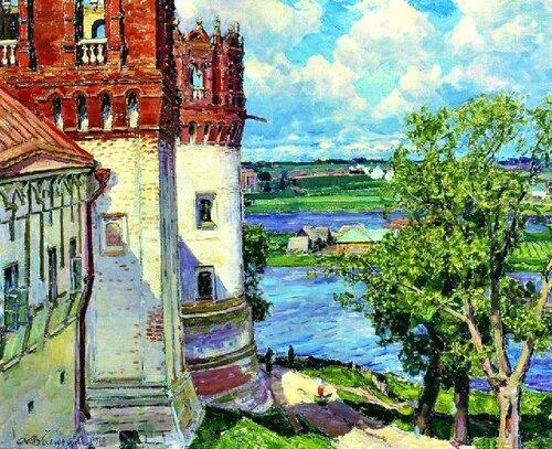 Новодевичий монастырь. Башни 1926 год