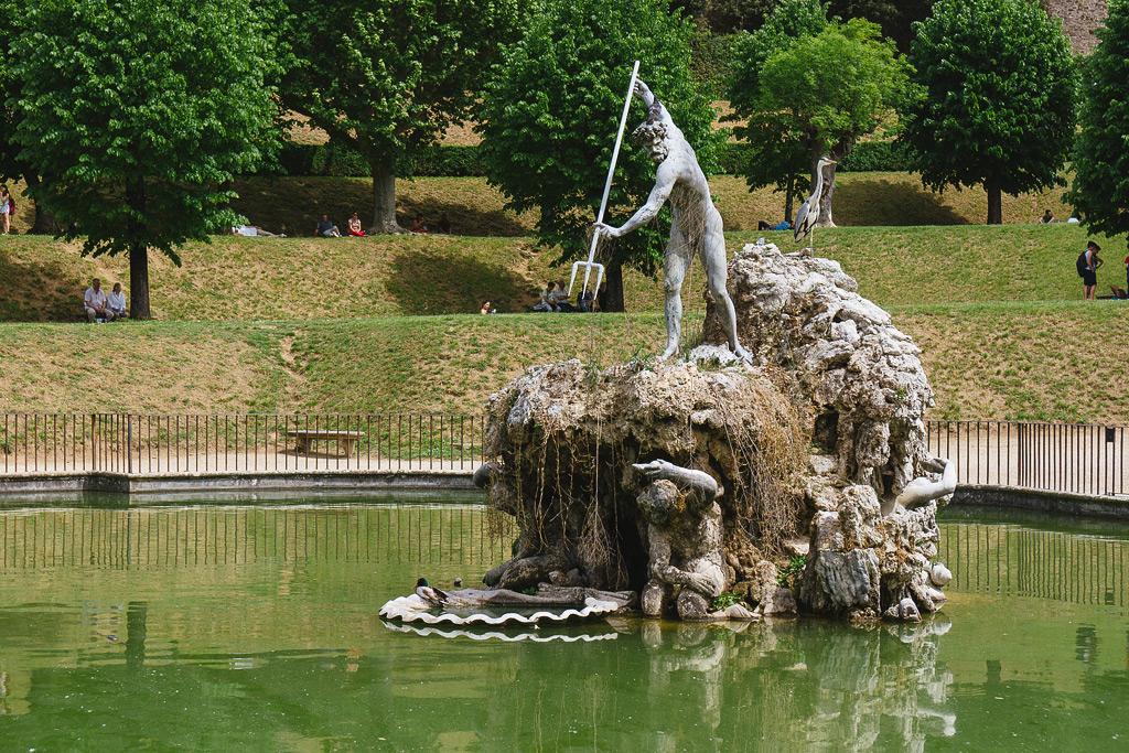 Сады Боболи. Флоренция фото.