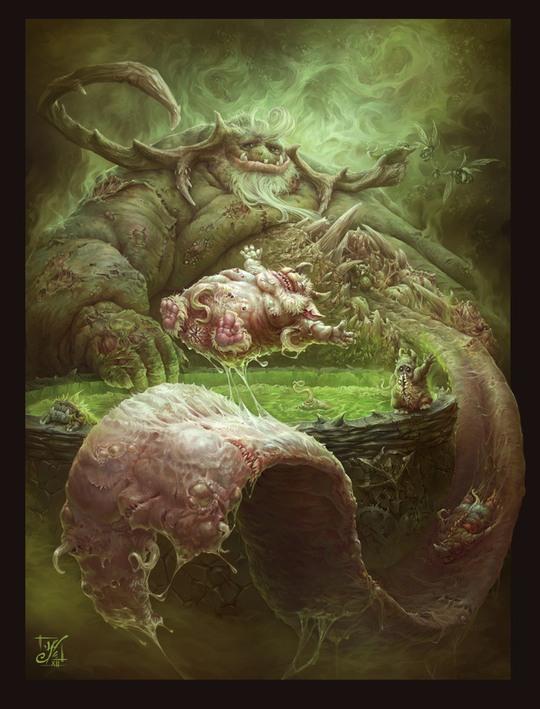 Концепт-иллюстрации Олега Шеховцова