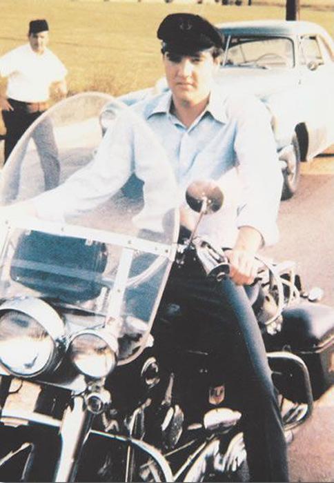 Элвис и Harley-Davidson. Сентябрь 1956г