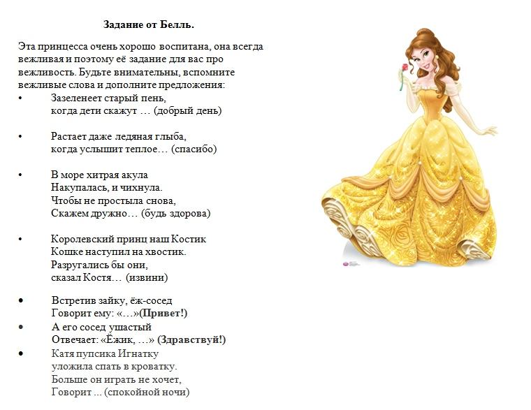 День рождения в стиле принцессы готовый сценарий празднования детского