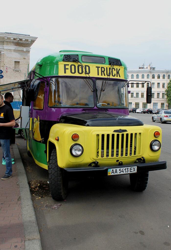 Мобильная закусочная на Контрактовой площади