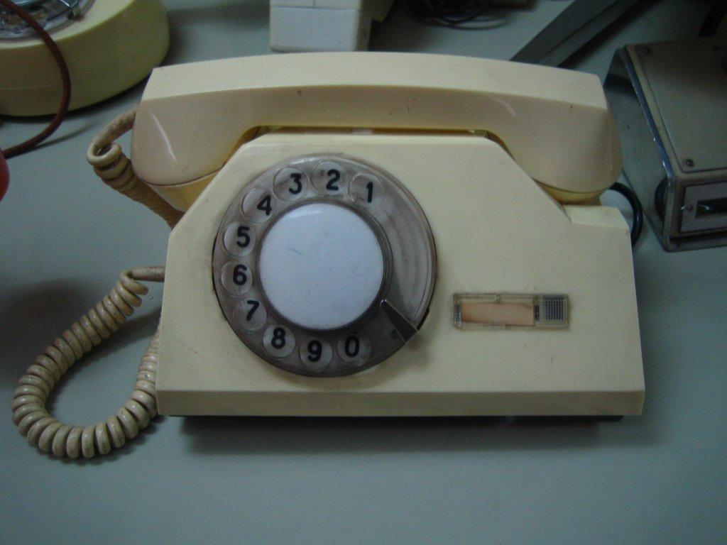 Дисковый телефонный аппарат СССР ТА-72