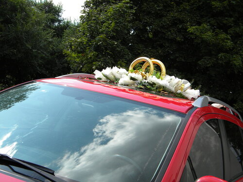 Свадебное...небо