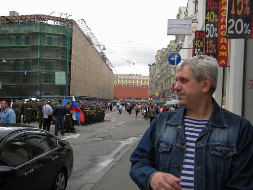 Десантники на Ильинке
