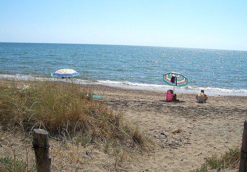 Пляж, куда мы ездим