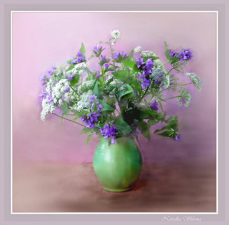 С луговыми цветами