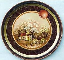 Серебрянное блюдечко и наливное яблочко