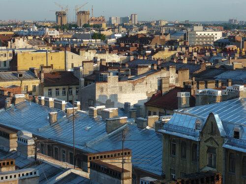 Необычная экскурсия по крышам Петербурга.