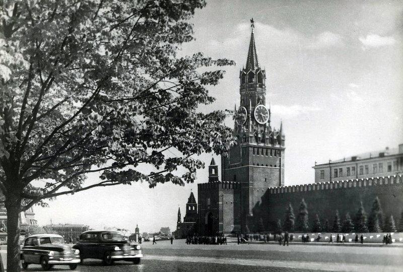 Москва. Спасская башня Кремля